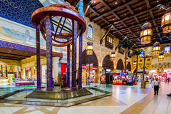 Ibn Battuta Mall Dubai, UAE Royaltyfri Bild