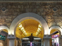 Ibn Battuta Mall in Dubai, UAE. It is the world's largest themed shopping mall. It consists of six courts Royalty Free Stock Photos