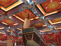 Ibn Battuta Mall in Dubai, UAE. It is the world's largest themed shopping mall. It consists of six courts. The China court is pictured here Stock Image