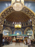 Ibn Battuta Mall in Dubai, UAE. It is the world's largest themed shopping mall. It consists of six courts. The Persia court is pictured here Stock Photo