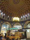 Ibn Battuta Mall in Dubai, UAE. It is the world's largest themed shopping mall. It consists of six courts. The Persia court is pictured here Stock Image