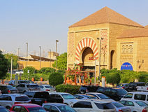 IBN Battuta Mall. Each salesroom is decorated in the style of di Royalty Free Stock Image
