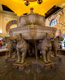 Ibn Battuta Mall. Fountain in the Ibn Battuta Mall in Dubai Stock Images