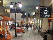 Ibn Battuta Mall i Dubai, UAE Royaltyfri Foto