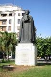 Ibn Khaldoun雕象  库存照片