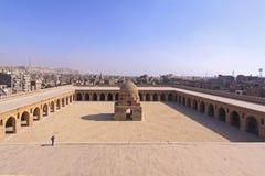 Ibn Tulun庭院 库存图片