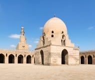 Ibn Tulun清真寺,开罗,埃及庭院  图库摄影