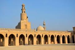 Ibn Tulun清真寺 图库摄影