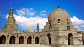 Ibn Tulun kordzik lokalizuje w Kair kapitał Egipt zbiory wideo