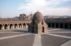 Ibn Tulun Mosque, Cairo, Egypt Royalty Free Stock Photos