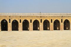 Ibn Tulun podwórze obrazy royalty free