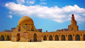 Ibn Tulun`s sword is located in Cairo, the capital of Egypt. Ibn Tulun`s sword is located in Cairo, the capital of Egypt stock footage