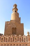 Ibn Tulun spirali minaret Fotografia Royalty Free