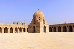 Ibn Tulun-wassingenkoepel Royalty-vrije Stock Foto