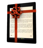 Ibook gift Royalty Free Stock Photo