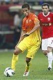 Ibrahim Afellay del FC Barcelona Fotografia Stock