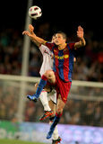 Ibrahim Afellay von Barcelona Lizenzfreie Stockfotografie