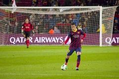 Ibrahim Afellay von FC Barcelona Lizenzfreie Stockbilder