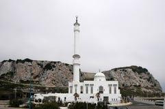 Ibrahim al Ibrahim meczet Zdjęcie Stock