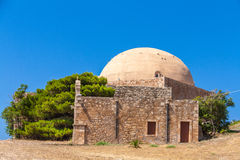 Ibrahim Han Mosque. (St. Nikolaos church), Retimno, Crete Royalty Free Stock Images