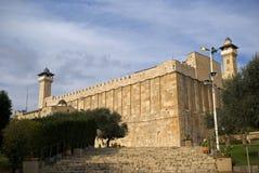 Ibrahim Mosque, Hebron, Palestina Stock Foto's