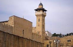 Ibrahim Mosque, Hebron, Palestina royalty-vrije stock fotografie