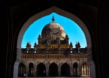 Ibrahim Rauza σε Bijapur, Karnataka, Ινδία στοκ εικόνα