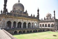 Ibrahim Rauza, Bijapur, Karnataka, la India imagenes de archivo