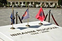 Ibrahim Rugova, Kosovo royalty-vrije stock foto's
