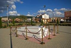 Ibrahim Rugova's tomb, Pristina, Kosovo Stock Images
