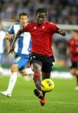 Ibrahima Balde of Osasuna Royalty Free Stock Images