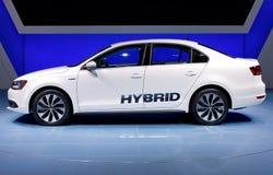 Ibrido 2012 di Volkswagen Jetta Immagini Stock