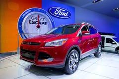 Ibrido 2013 di fuga del Ford Fotografie Stock Libere da Diritti