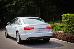 Ibrido 2014 di Audi A6 Immagine Stock Libera da Diritti