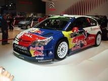 Ibrido di Citroen C4 WRC Fotografia Stock