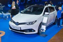 Ibrido di Toyota Auris Fotografie Stock Libere da Diritti