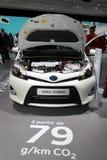 Ibrido di Toyota Yaris Immagini Stock