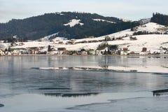 Ibrig地区在瑞士 免版税图库摄影