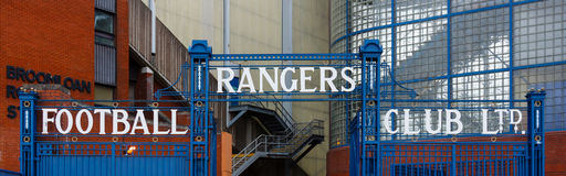 Ibrox Stadium stockfoto