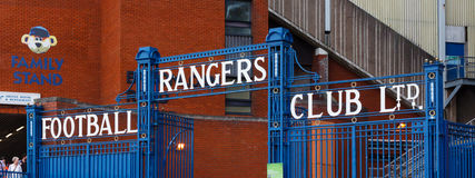 Ibrox Stadium stockfotos