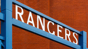 Ibrox Stadium Royalty Free Stock Photography