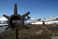 ibsen jotunheimen pomnikowe góry zdjęcia stock