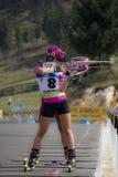 IBU-Sommer Biathlon-Weltmeisterschaften, Cheile Gradistei, 2015 Lizenzfreie Stockfotos