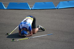IBU-Sommer Biathlon-Weltmeisterschaften, Cheile Gradistei, 2015 Stockfotos