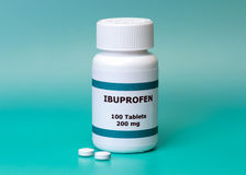 Ibuprofen Στοκ φωτογραφία με δικαίωμα ελεύθερης χρήσης