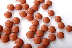 ibuprofenpills Royaltyfri Bild