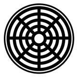 Icône d'égout sur le fond blanc icône d'égout pour votre DES de site Web illustration libre de droits
