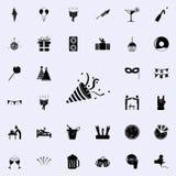 Icône d'aileron Faites la fête l'ensemble universel d'icônes pour le Web et le mobile illustration libre de droits