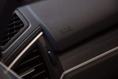 Icône d'airbag dans la voiture Photos stock