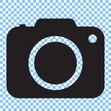 Icône d'appareil-photo de photo Image libre de droits